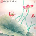 chinese-painting-lotus-flower-LF5522